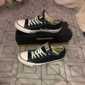 Used black and white converse